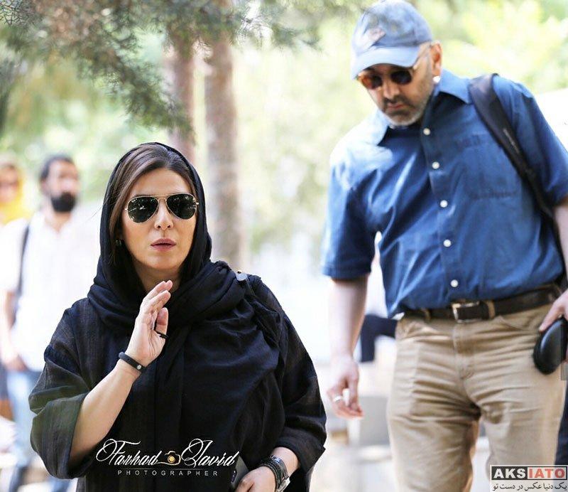 بازیگران بازیگران زن ایرانی  سحر دولتشاهی در دومین سالگرد درگذشت عباس کیارستمی (4 عکس)