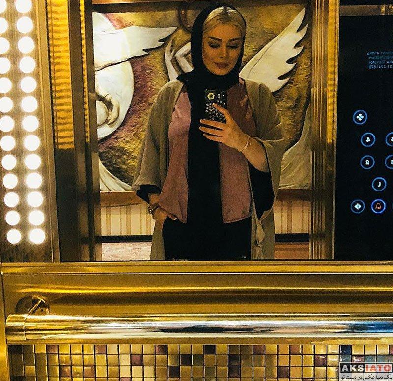 بازیگران بازیگران زن ایرانی  عکس های جدید سحر قریشی در تیر ماه 97 (8 تصویر)