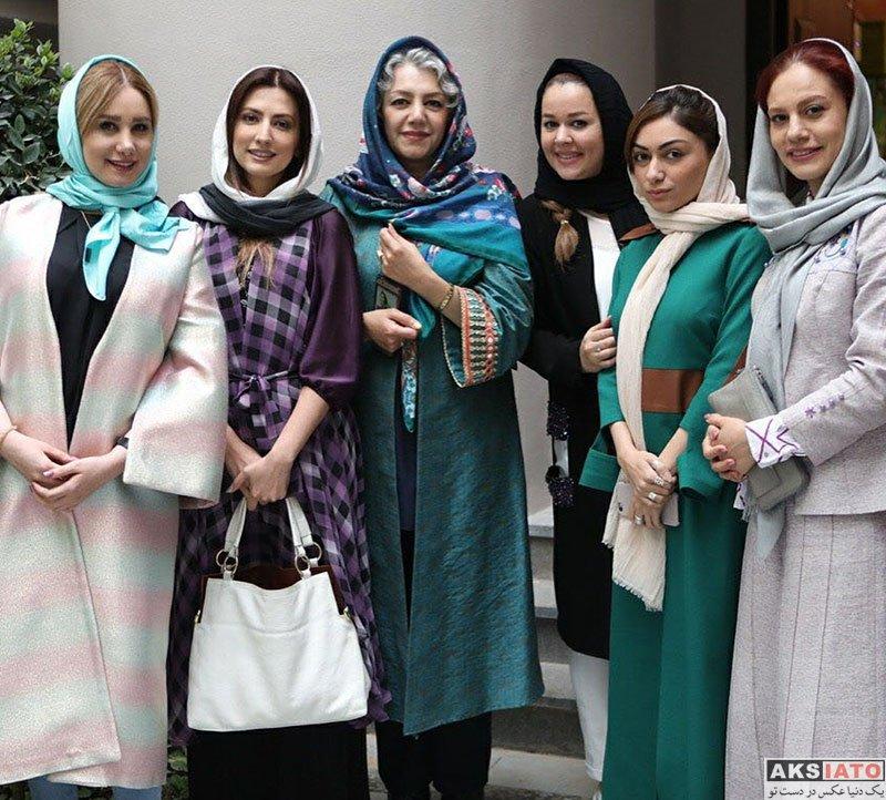 بازیگران بازیگران زن ایرانی  سمیرا حسینی در جشن اردیبهشت حجره (4 عکس)