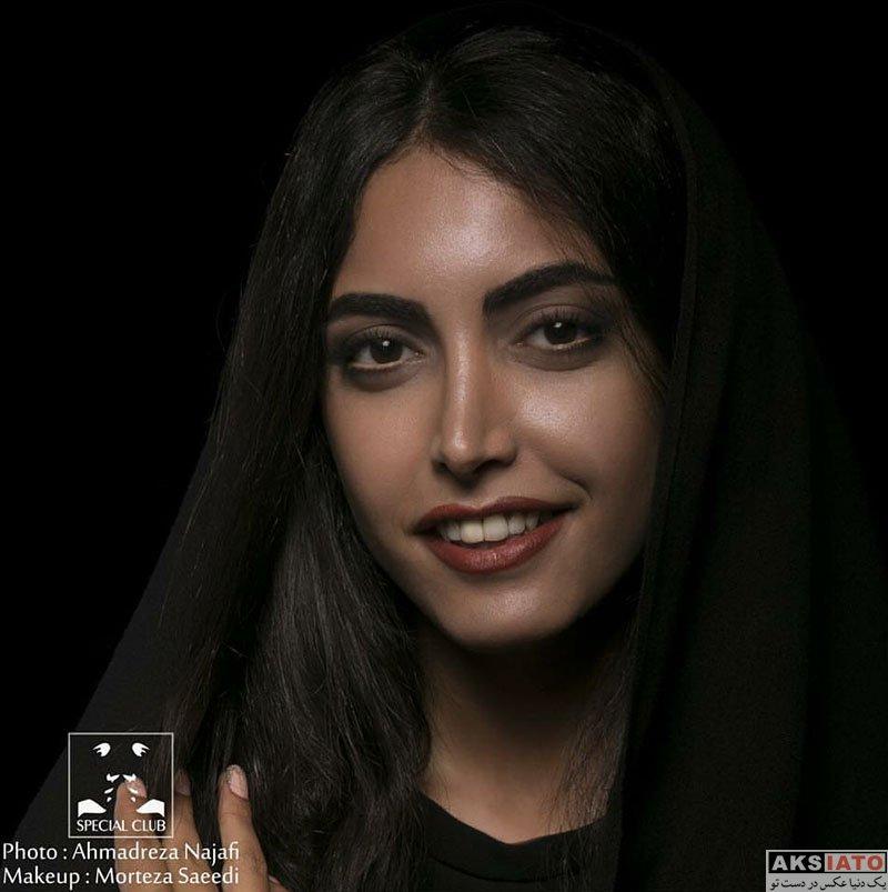 عکس آتلیه و استودیو  عکس های آتلیه ساناز طاری بازیگر نقش نیکا در سریال پدر