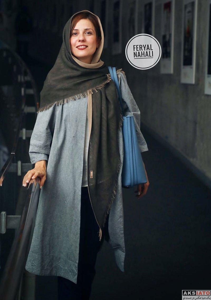 بازیگران بازیگران زن ایرانی  6 عکس سارا بهرامی در اکران خیریه فیلم دارکوب