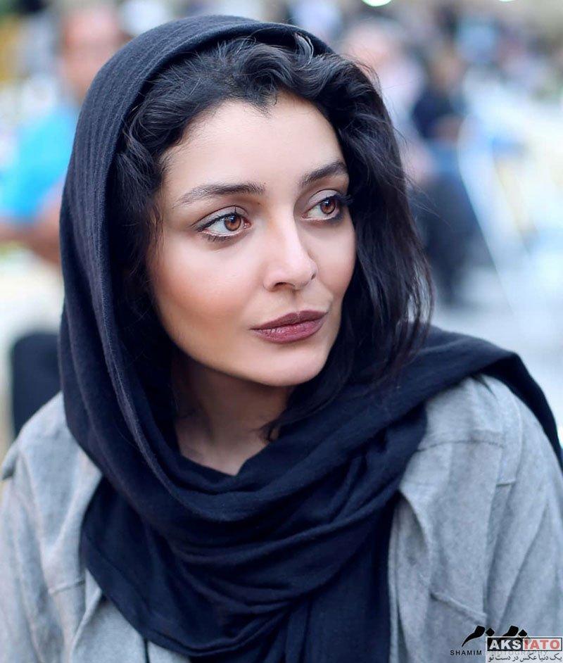 بازیگران بازیگران زن ایرانی  ساره بیات در مراسم بزرگداشت هفته صنایع دستی (5 عکس)
