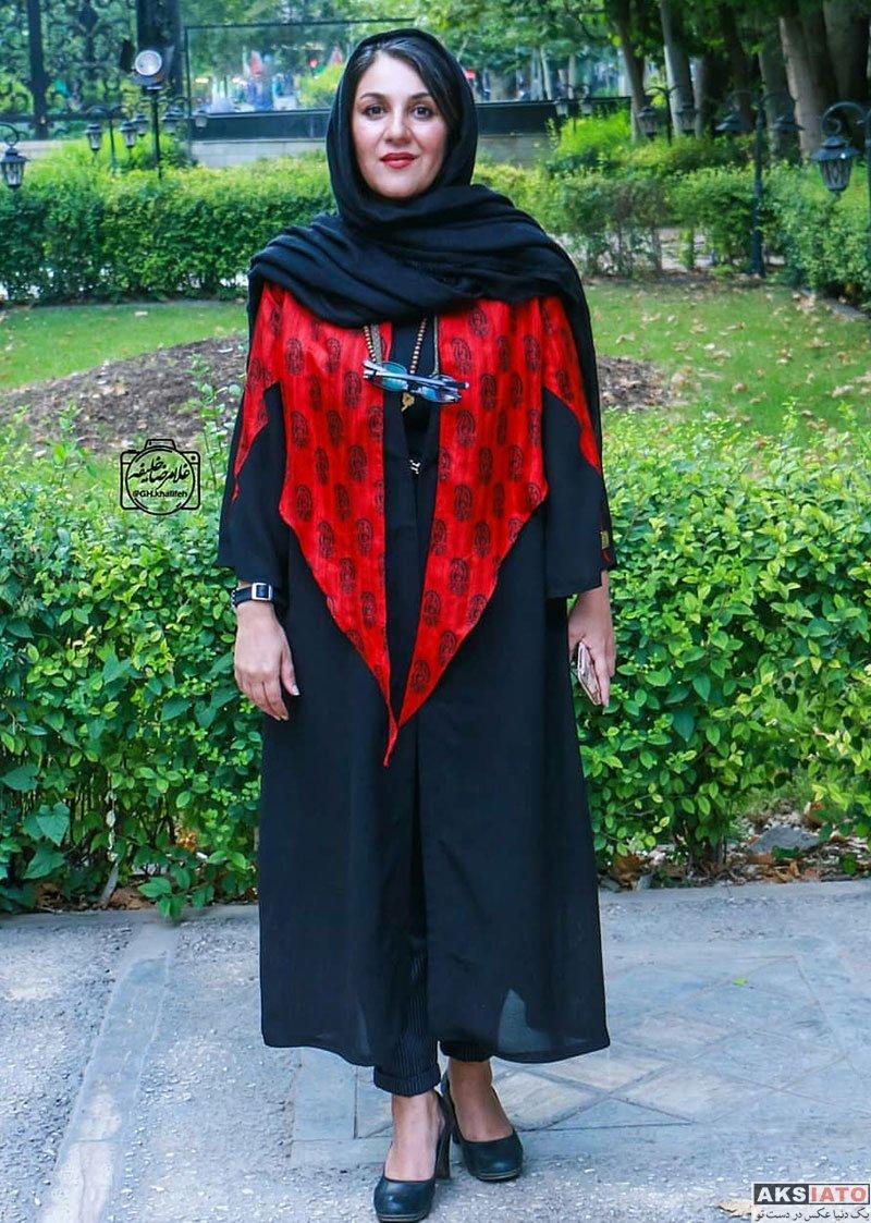 بازیگران بازیگران زن ایرانی  ستاره اسکندری در اکران خصوصی فیلم مواجهه (3 عکس)