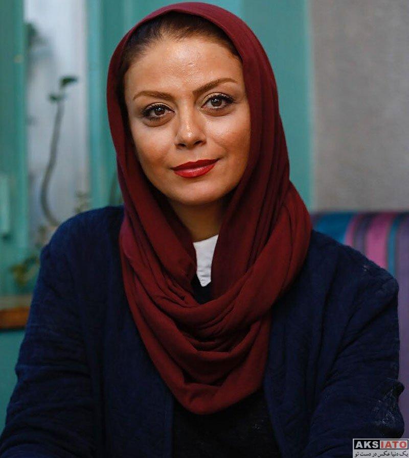 بازیگران بازیگران زن ایرانی  عکس های خاص شبنم فرشادجو در یک کافه (4 عکس)