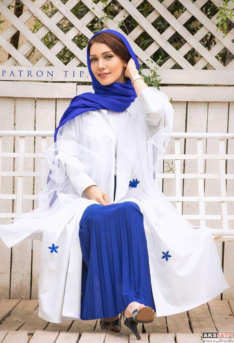 بازیگران  عکس های تبلیغاتی شهرزاد کمال زاده برای برند لباس پاترون