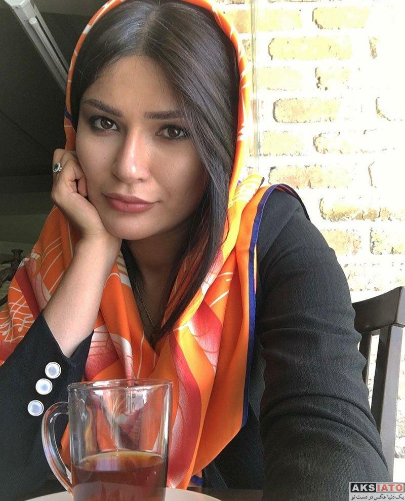 بازیگران بازیگران زن ایرانی  عکس های جدید شیوا طاهری در تیرماه 97 (8 تصویر)