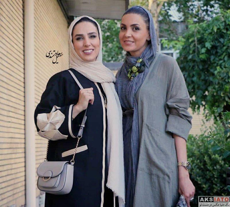 بازیگران بازیگران زن ایرانی  سوگل طهماسبی در مراسم رونمایی مستند سریک (6 عکس)