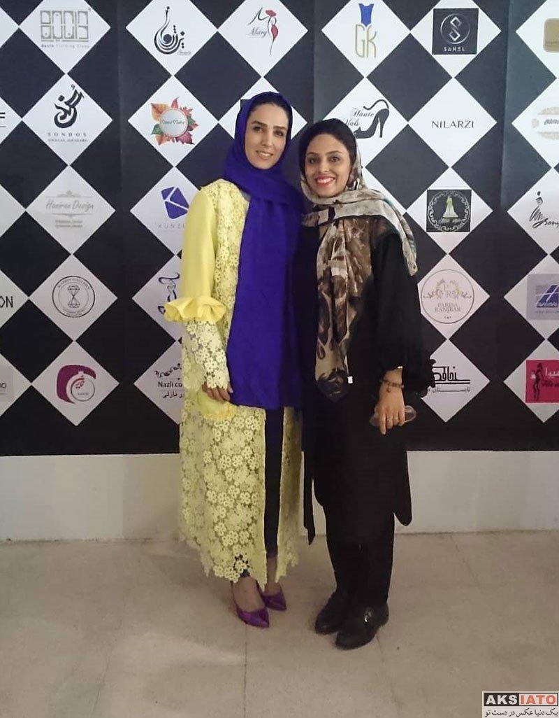بازیگران بازیگران زن ایرانی  سوگل طهماسبی در گردهمایی طراحان برتر لباس و زیورآلات (4 عکس)