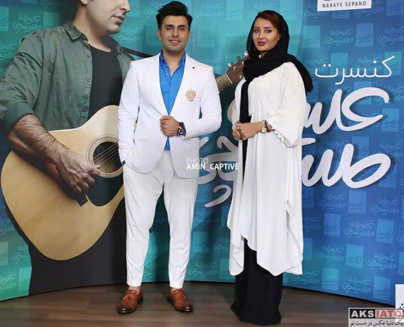 بازیگران بازیگران زن ایرانی  سولماز حصاری در کنسرت علیرضا طلیسچی (2 عکس)