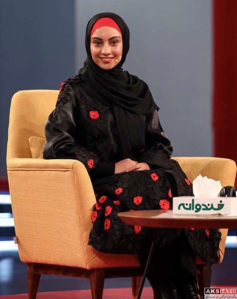 بازیگران بازیگران زن ایرانی  ترلان پروانه در برنامه خندوانه (4 عکس)