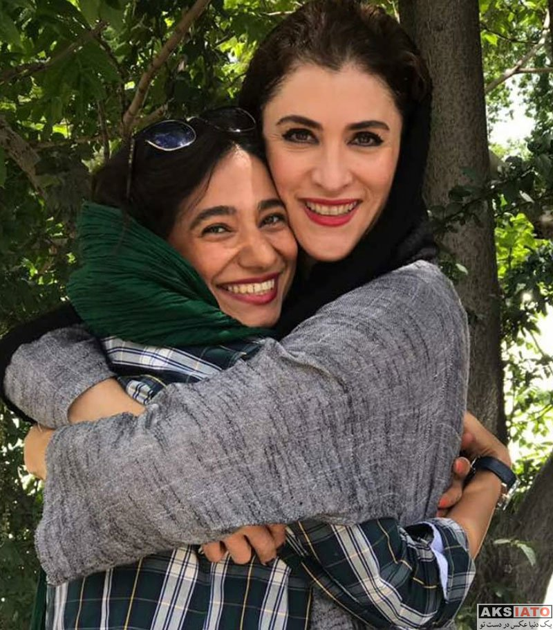 بازیگران بازیگران زن ایرانی  ویشکا آسایش در پشت صحنه فیلم جدیدش (4 عکس)