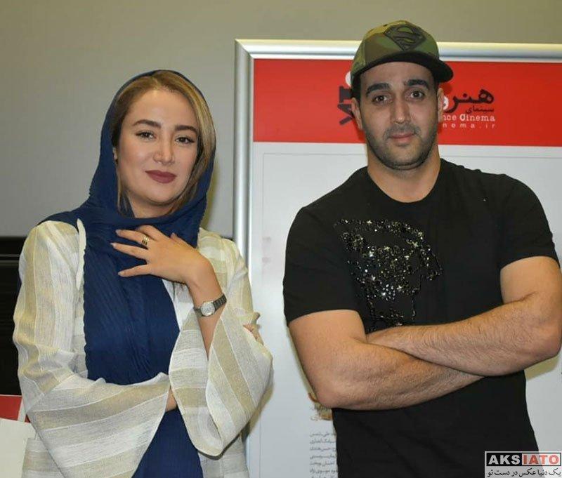بازیگران بازیگران زن ایرانی  بهار افشاری در پردیس کوروش برای اکران مستند سریک (6 عکس)