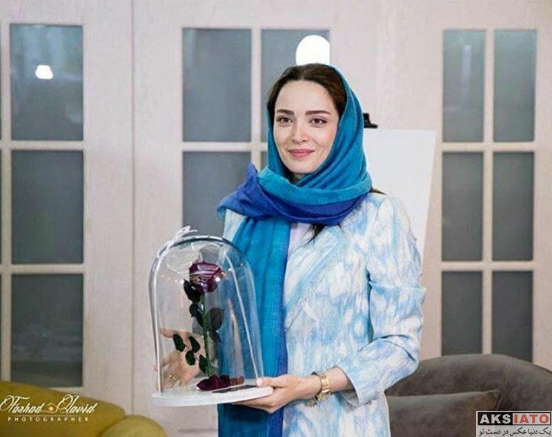 بازیگران بازیگران زن ایرانی  بهنوش طباطبایی در جلسه نقد مستند توران خانوم (6 عکس)