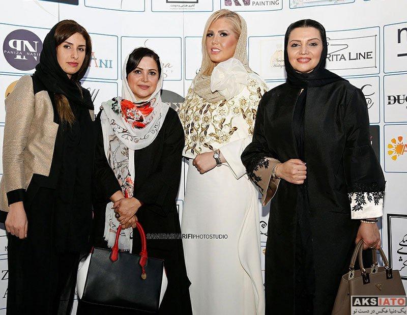 بازیگران بازیگران زن ایرانی  کمند امیرسلیمانی در گردهمایی طراحان برتر لباس و زیورآلات (۳ عکس)
