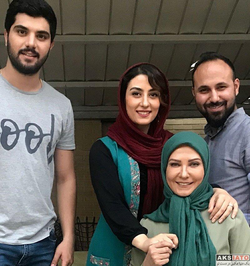 بازیگران بازیگران زن ایرانی  لعیا زنگنه بازیگر نقش شریفه مادر حامد در سریال پدر (6 عکس)