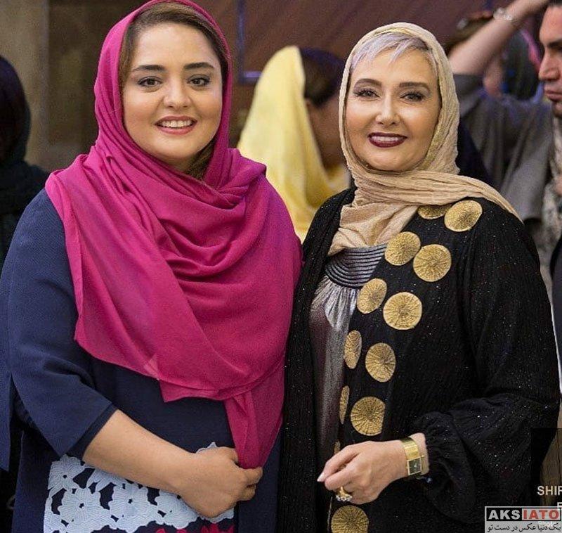 بازیگران بازیگران زن ایرانی  نرگس محمدی در افتتاحیه سالن زیبایی در تبریز (5 عکس)