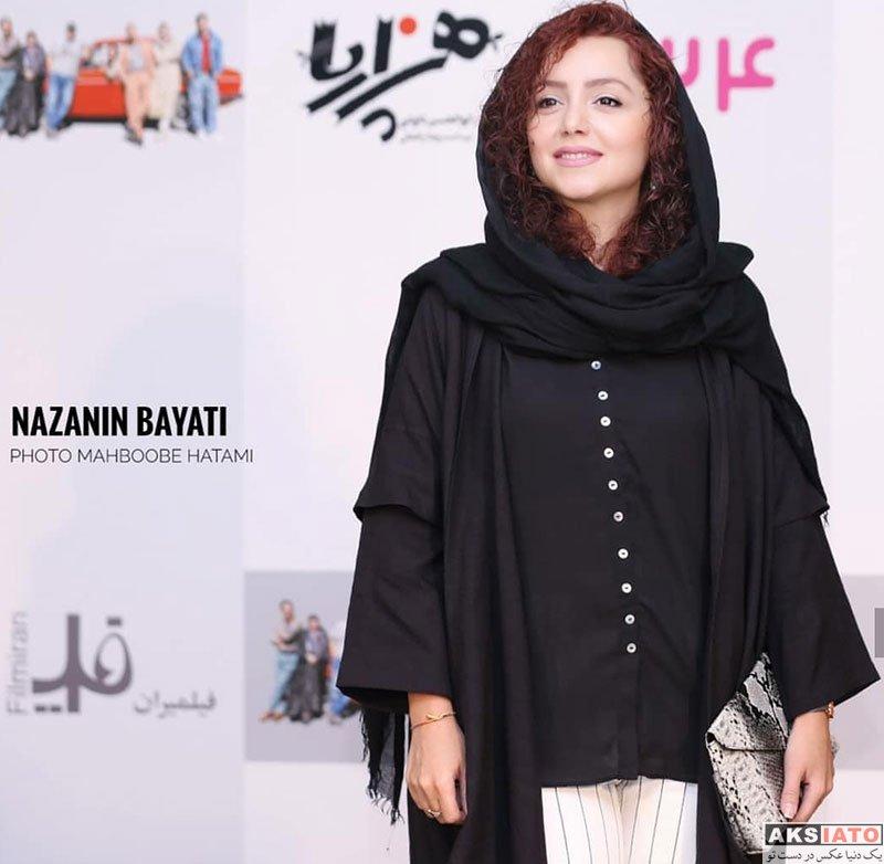 بازیگران بازیگران زن ایرانی  نازنین بیاتی در اکران افتتاحیهی فیلم هزارپا (6 عکس)