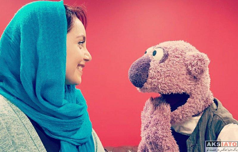 بازیگران بازیگران زن ایرانی  نازنین بیاتی در برنامه خندوانه چهارشنبه شب (5 عکس)