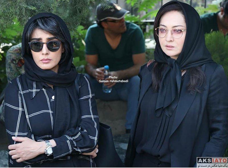 بازیگران بازیگران زن ایرانی  نیکی کریمی در دومین سالگرد درگذشت عباس کیارستمی (3 عکس)