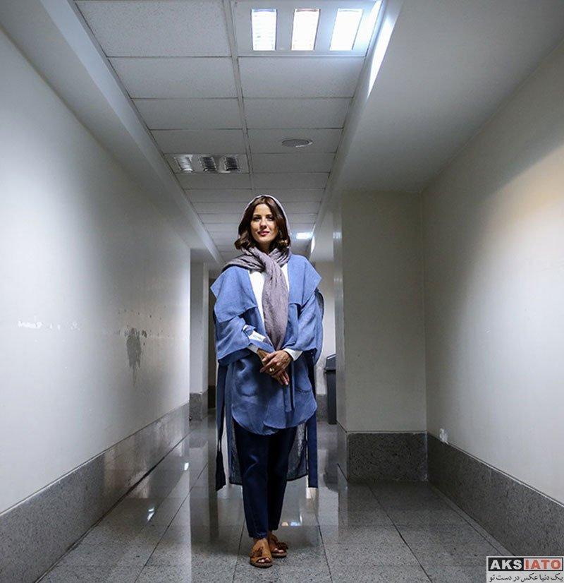 بازیگران بازیگران زن ایرانی  سارا بهرامی در اکران مردمی فیلم دارکوب (6 عکس)