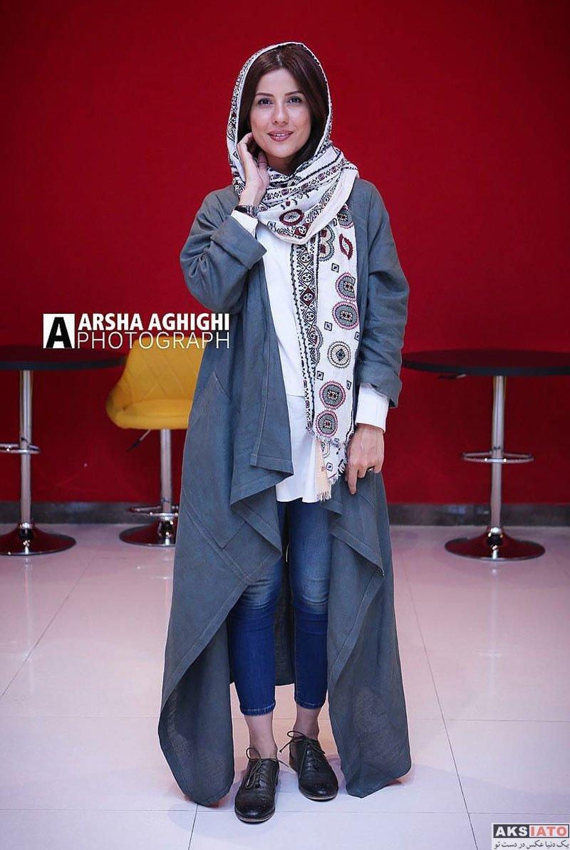 بازیگران بازیگران زن ایرانی  عکس های سارا بهرامی در اکران مردمی فیلم داکوب