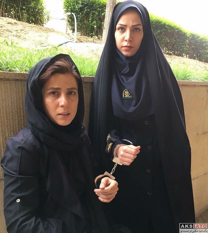 بازیگران بازیگران زن ایرانی  عکس های جدید سارا بهرامی در تیر ماه 97 (8 تصویر)