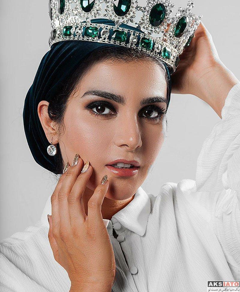 بازیگران  عکس های آتلیه جدید سارا سهیلی در تیر ماه 97 (6 تصویر)