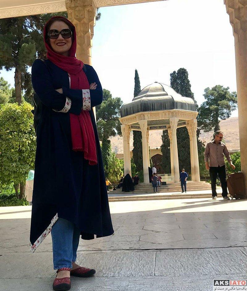 بازیگران بازیگران زن ایرانی  شبنم مقدمی در شهر زیبای شیراز (4 عکس)