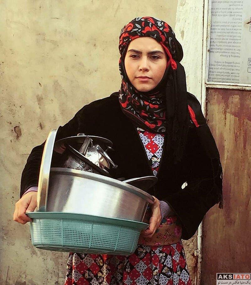 بازیگران بازیگران زن ایرانی  سهیلا عسکری بازیگر سریال راه و بیراه (۶ عکس)
