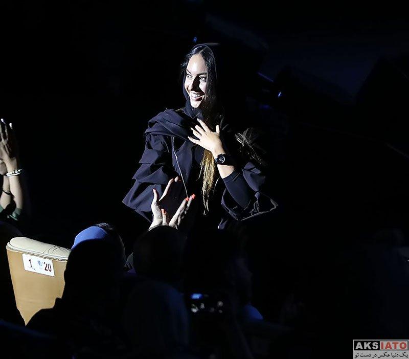 بازیگران بازیگران زن ایرانی  ترلان پروانه در کنسرت اشوان در تیرماه 97 (3 عکس)
