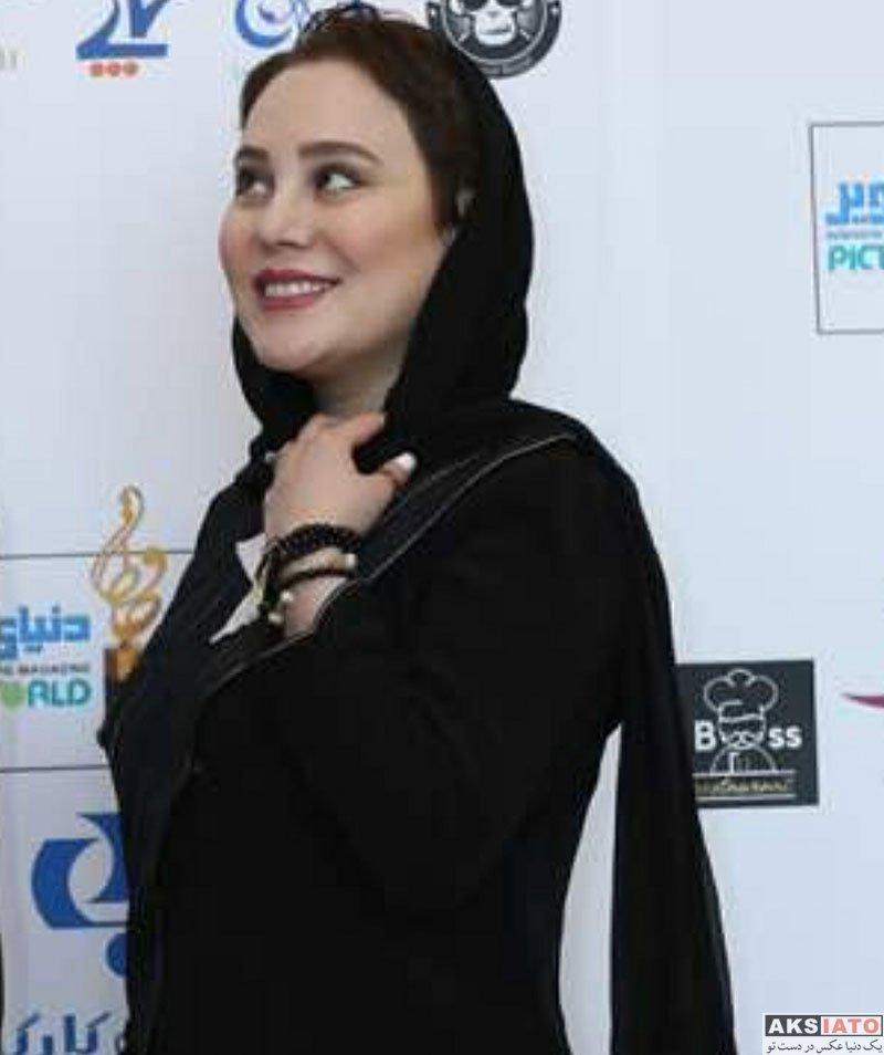 بازیگران بازیگران زن ایرانی جشن حافظ  آرام جعفری و همسرش در هجدهمین جشن حافظ ۹۷ (۳ عکس)