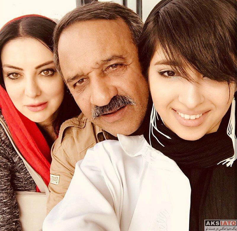 بازیگران بازیگران زن ایرانی  آزاده ریاضی بازیگر نقش مهین در سریال دلدادگان (6 عکس)