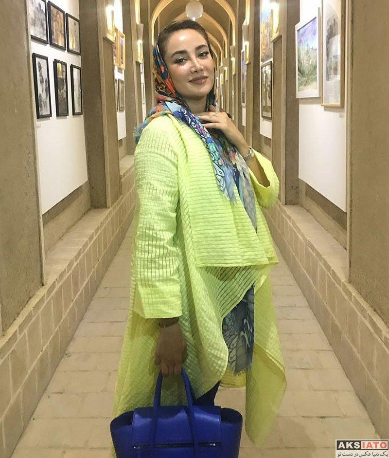 بازیگران بازیگران زن ایرانی  عکس های بهاره افشاری در مرداد ماه 97 (14 تصویر)