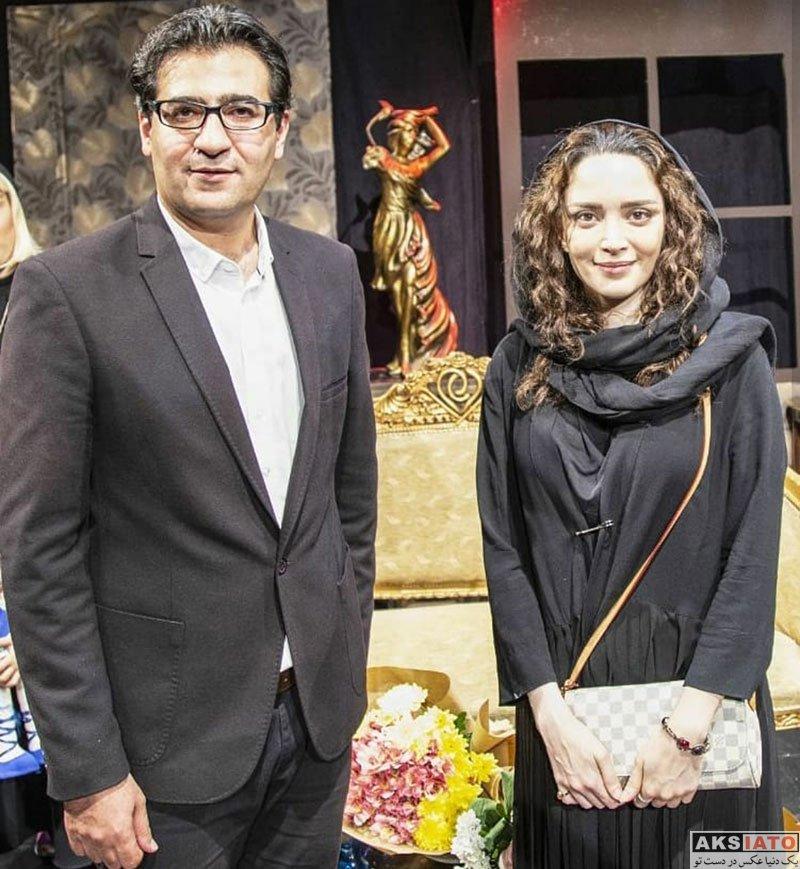 بازیگران بازیگران زن ایرانی  بهنوش طباطبایی در اجرای نمایش بانوایان (3 عکس)