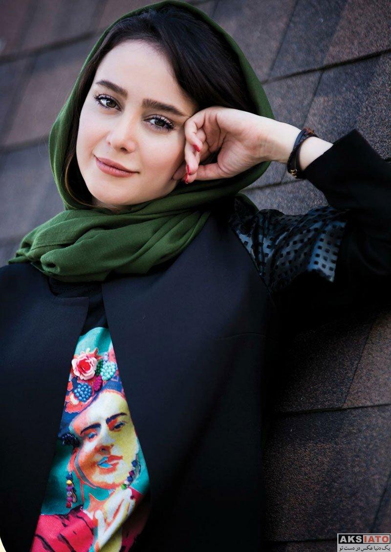 عکس آتلیه و استودیو  فتوشات های زیبای الناز حبیبی برای مجله انار (4 عکس)