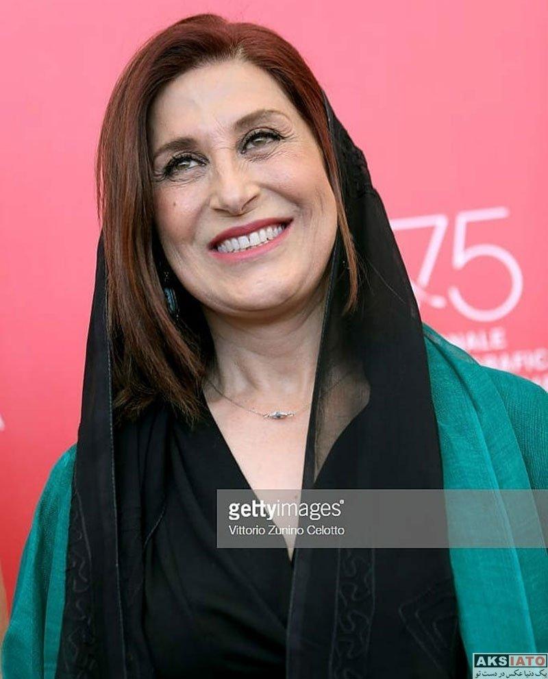 بازیگران بازیگران زن ایرانی  فاطمه معتمد آریا در 75مین جشنواره فیلم ونیز (3 عکس)