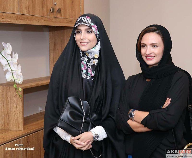 بازیگران بازیگران زن ایرانی  گلاره عباسی در افتتاحیه شعبه ۳ سالن زیبایی شیمر (۶ عکس)