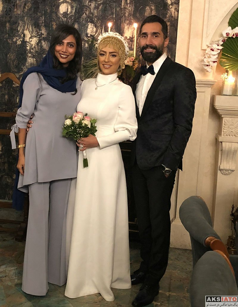 بازیگران خانوادگی  مراسم عروسی سمانه پاکدل و هادی کاظمی (13 عکس)
