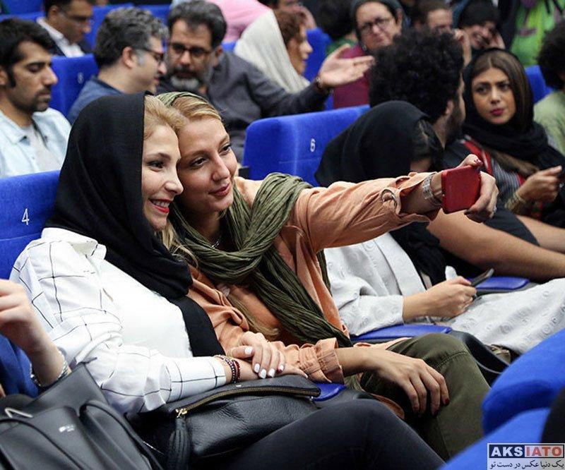 بازیگران بازیگران زن ایرانی  حدیث میرامینی در آیین نمایش شش فیلم کوتاه برتر (4 عکس)