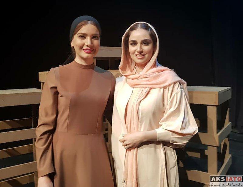 بازیگران بازیگران زن ایرانی  هانیه غلامی در اجرای نمایش فصل شکار بادبادک ها (3 عکس)