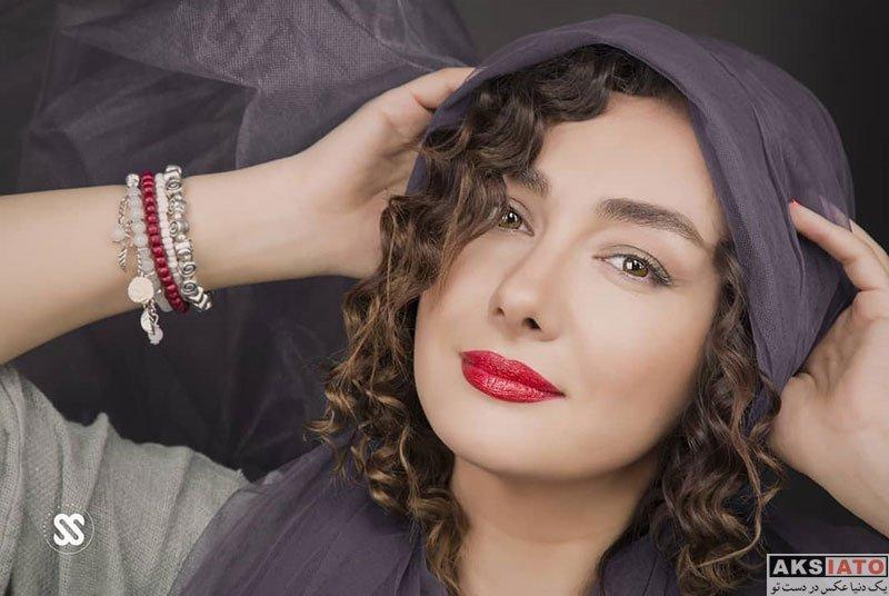 بازیگران  عکس های آتلیه هانیه توسلی در شهریور ماه 97