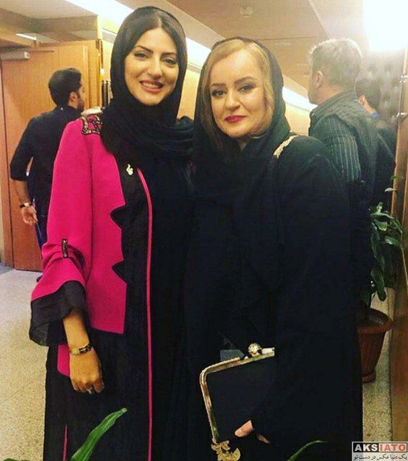 بازیگران بازیگران زن ایرانی جشن حافظ  هلیا امامی در هجدهمین جشن حافظ ۹۷ (۳ عکس)