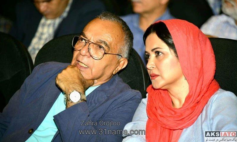 بازیگران بازیگران زن ایرانی  کمند امیرسلیمانی در بزرگداشت بیستمین جشن سینمای ایران (۴ عکس)