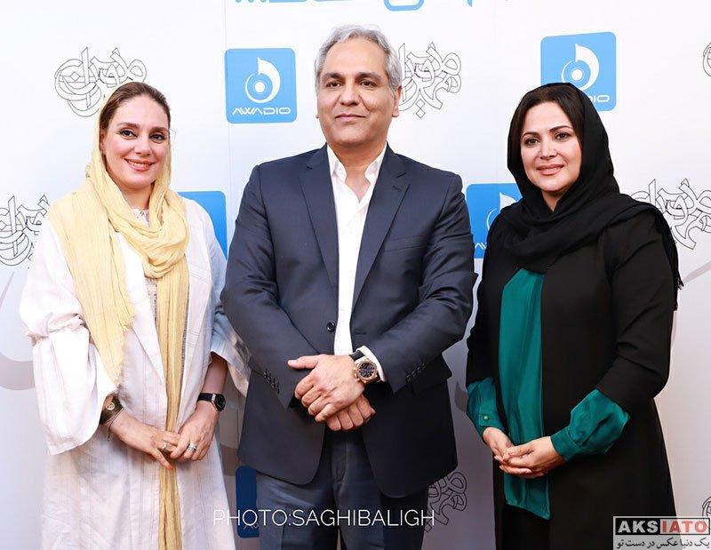 بازیگران بازیگران زن ایرانی  کمند امیرسلیمانی در کنسرت مهران مدیری (۴ عکس)