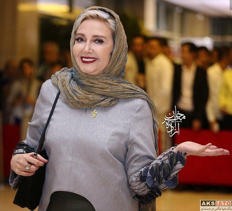 بازیگران بازیگران زن ایرانی جشن حافظ  کتایون ریاحی در هجدهمین جشن حافظ ۹۷ (۲ عکس)