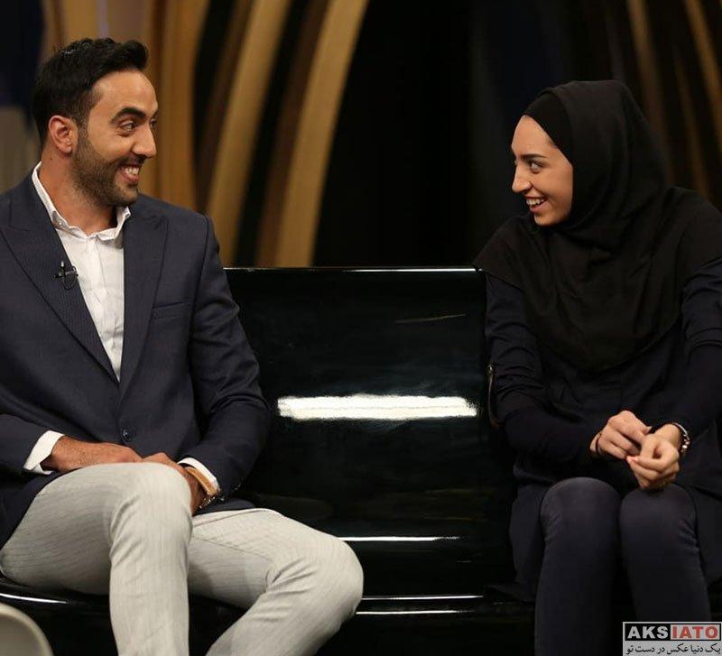 ورزشکاران ورزشکاران زن  کیمیا علیزاده و همسرش در برنامه فرمول یک (4 عکس)