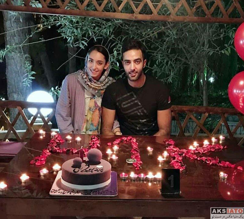 خانوادگی ورزشکاران ورزشکاران زن  اولین عکس کیمیا علیزاده در کنار همسرش حامد معدنچی