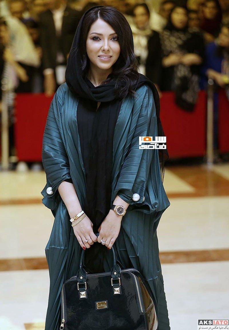 بازیگران بازیگران زن ایرانی جشن حافظ  لیلا اوتادی در هجدهمین جشن حافظ ۹۷ (۳ عکس)