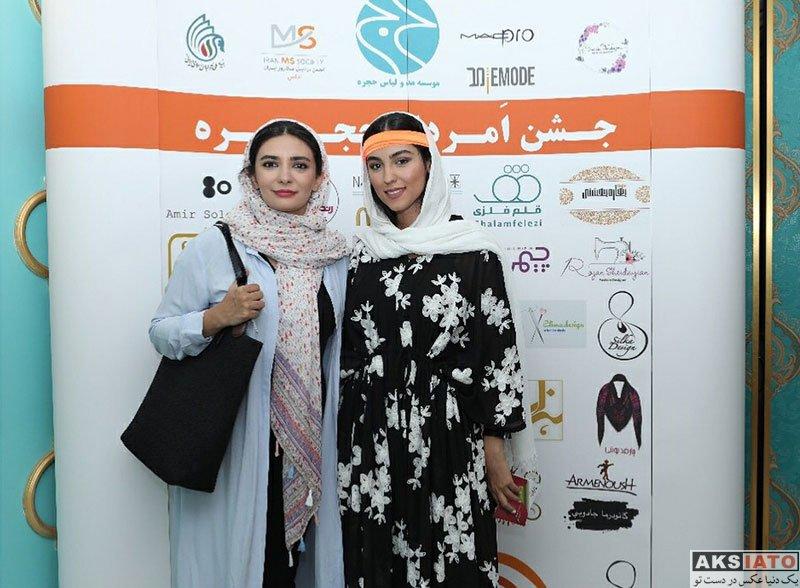 بازیگران بازیگران زن ایرانی  لیندا کیانی در جشن امرداد حجره (۴ عکس)