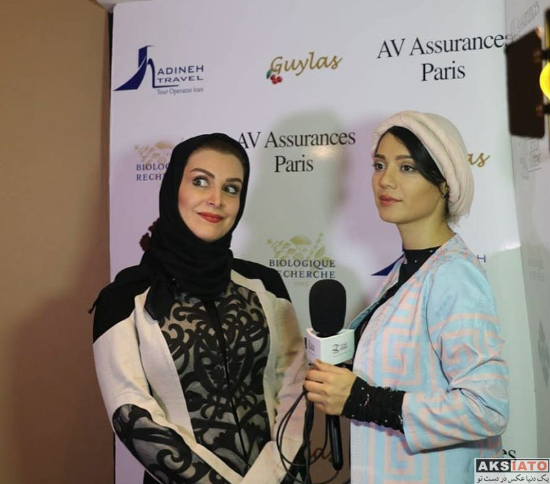 بازیگران بازیگران زن ایرانی  ماه چهره خلیلی در اکران فیلم قرارمون پارک شهر در پاریس (8 عکس)